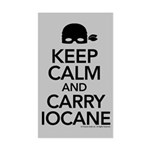 Keeo Calm and Carry Iocane Sticker