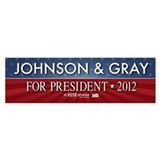 FREE - Gary Johnson 2012 Bumper Bumper Sticker