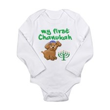 My first Chanukah Onesie Romper Suit