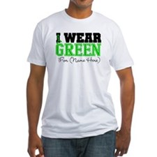 Personalize I Wear Green Shirt
