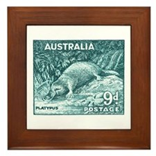 Unique Platypus Framed Tile
