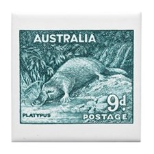 Unique Platypus Tile Coaster