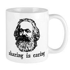 Marx: Sharing is Caring Small Mug