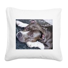 One of those days... Square Canvas Pillow