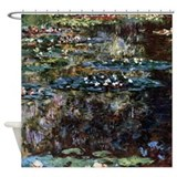 Claude Monet Water garden at Giverny Shower Curtai