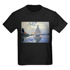 Claude Monet Sailboat T