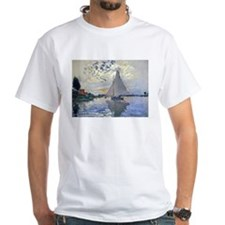 Claude Monet Sailboat Shirt