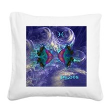 Pisces-square Square Canvas Pillow