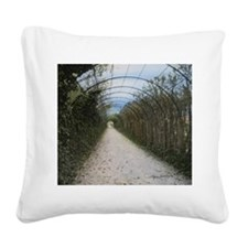 'Time Tunnel' Square Canvas Pillow