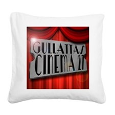 Cool Home theater Square Canvas Pillow
