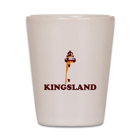 Kingsland GA - Lighthouse Design. Shot Glass