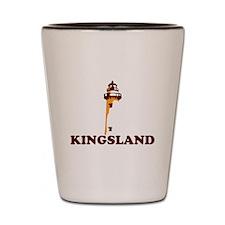Kingsland GA - Lighthouse Design. Shot Glass