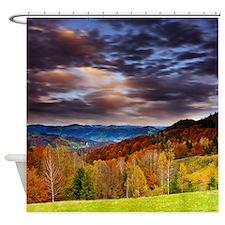 Fall Mountainz Shower Curtain
