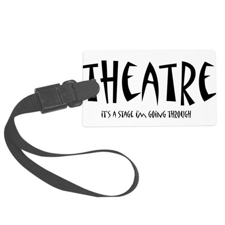 theatrestage1.png Large Luggage Tag