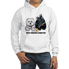 Scottie & Westie Best Friends Hoodie