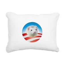 Ferrets for Obama Rectangular Canvas Pillow