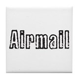 Airmail Tile Coaster
