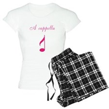 A cappella single note pink Pajamas