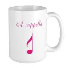 A cappella single note pink Mug