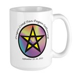 Oregon Coast Pan Pagan Gathering Large Mug