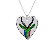 Springbok Flag Necklace