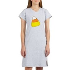 Halloween Candy Corn Women's Nightshirt