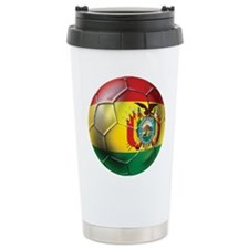 Bolivia Futbol Ceramic Travel Mug