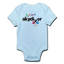 Cute Sky diving Infant Bodysuit