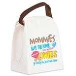 Just One Kiss Canvas Lunch Bag
