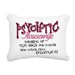 Psychotic Housewife Rectangular Canvas Pillow