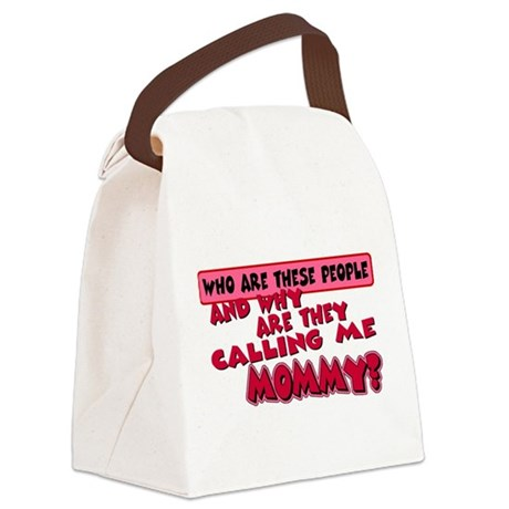 callingmmomy.png Canvas Lunch Bag