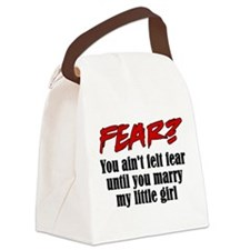 fear marry little girl.png Canvas Lunch Bag