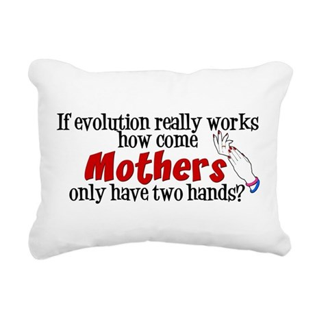 HANDS.png Rectangular Canvas Pillow