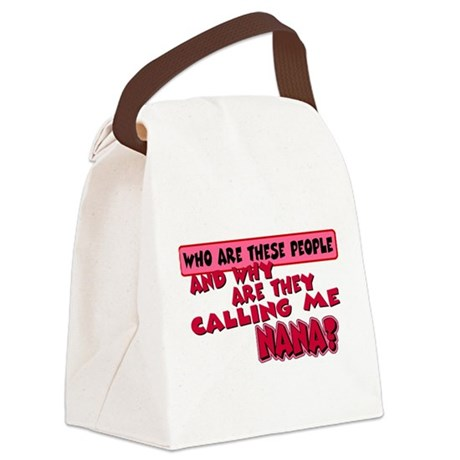 callingnana.png Canvas Lunch Bag