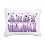 Baby Grandma Rectangular Canvas Pillow