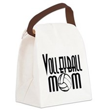 Volleyball Mom 5 Canvas Lunch Bag