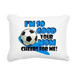 So Good - Soccer Rectangular Canvas Pillow