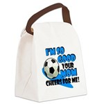 So Good - Soccer Canvas Lunch Bag