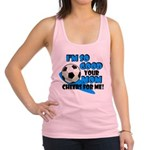 So Good - Soccer Racerback Tank Top