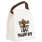 Hell Hath No Fury - Trucker's Wife Canvas Lunch Ba