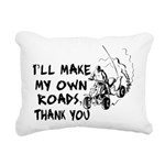 Make My Own Roads Rectangular Canvas Pillow