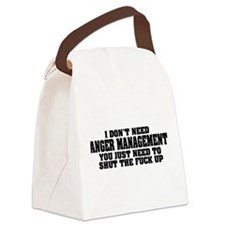 Anger Management Canvas Lunch Bag