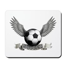 soccer wings star Mousepad