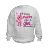 Fights Like a Girl 42.9 Breast Cancer Sweatshirt