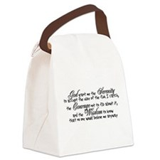 Fisherman's Prayer Canvas Lunch Bag