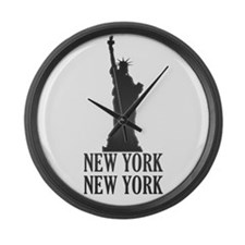 NY Liberty Large Wall Clock