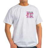 Fights Like a Girl 42.9 Breast Cancer T-Shirt