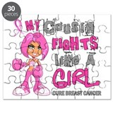 Fights Like a Girl 42.9 Breast Cancer Puzzle