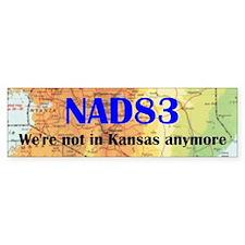 NAD 83 - Bumperr Bumper Sticker