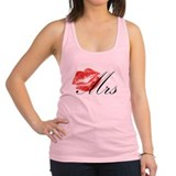 Mrs Lips.png Racerback Tank Top